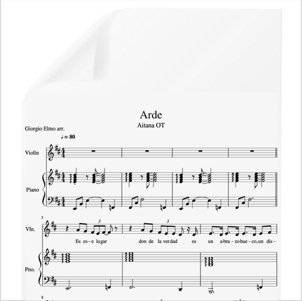 con las ganas zahara partitura piano pdf